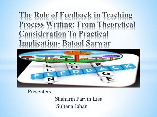 Providing Feedback on ESL Students' Written Assignments