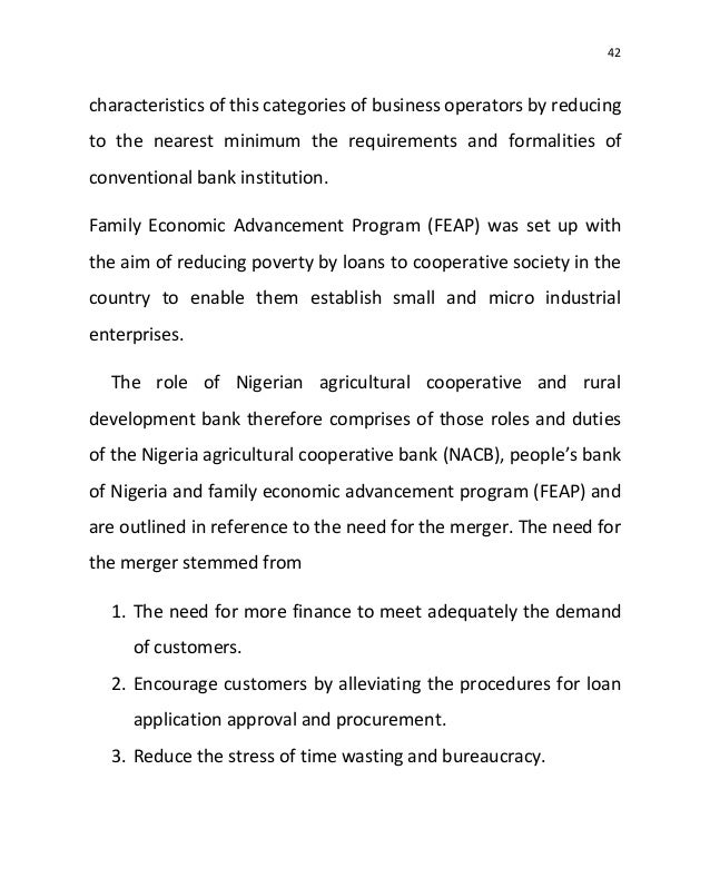 the role of micro finance bank in agricultural development in nigeria Impact assessment of the role of micro finance  development (shreiner, 2005) micro finance  them to microfinance banks central bank of nigeria (cbn) noted.