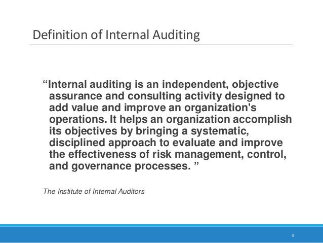 Definition of audit program: Step by step procedure laid down by the auditing firm that (depending upon the audit scope) must be followed by its accountant(s) in conducting an audit.