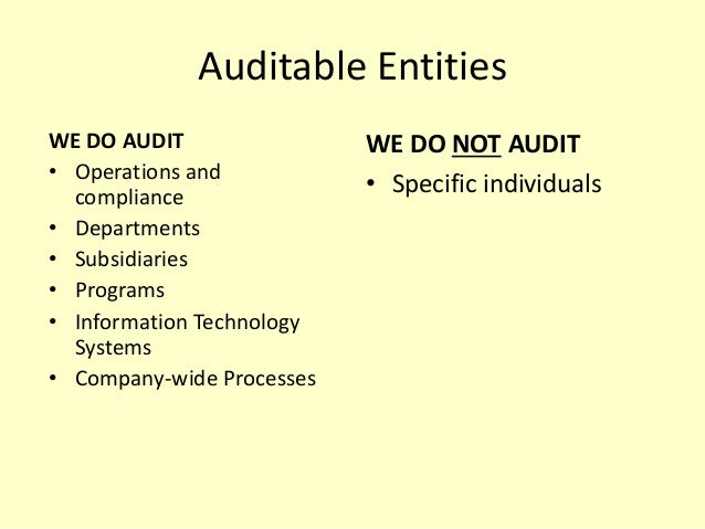 establishing an internal audit department the Utive must develop and maintain a quality assurance and improvement program establishing a quality assurance and in establishing a qaip, the internal audit.