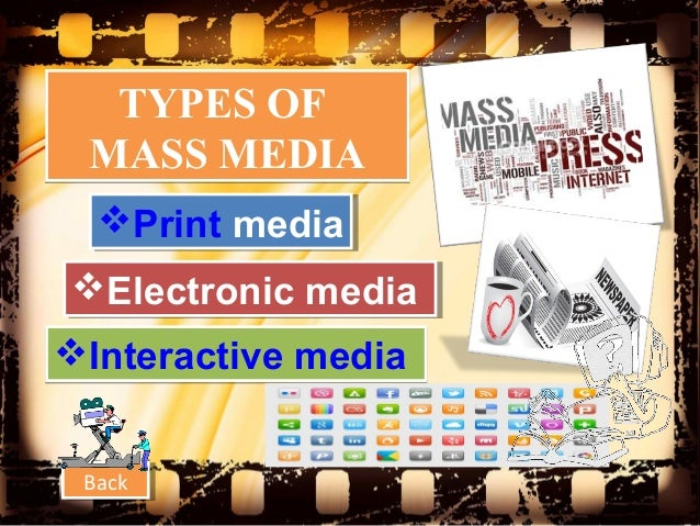 Image result for TYPES OF MASS MEDIA