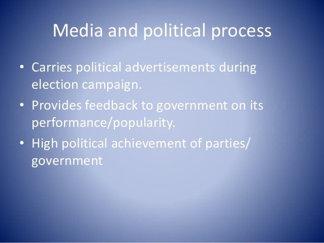 mass medias and their political role essay An essay or paper on the role of mass media in the world of politics what is the &aposimpact of the mass media on politics the mass media plays a very important role in everyday life it is often the only form of education which is available to some, and as such has a very powerful influence over peoples beliefs and opinions.