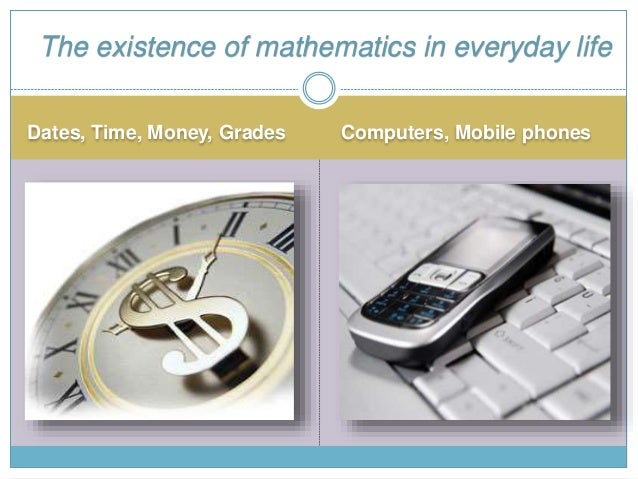 The Role of Mathematics In Human Daily Life Slide 3