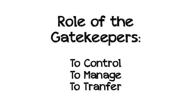 the role of media gatekeepers
