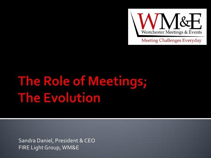 Sandra Daniel, President & CEO FIRE Light Group, WM&E