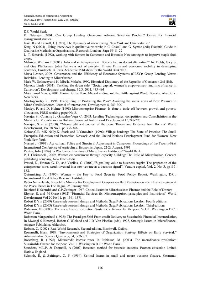 Research Journal of Finance and Accounting www.iiste.org ISSN 2222-1697 (Paper) ISSN 2222-2847 (Online) Vol.5, No.13, 2014...