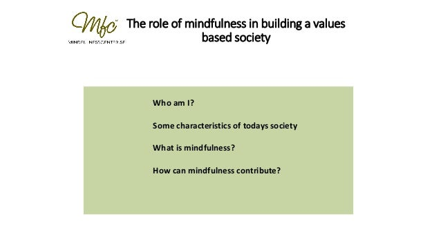 what are some values of society
