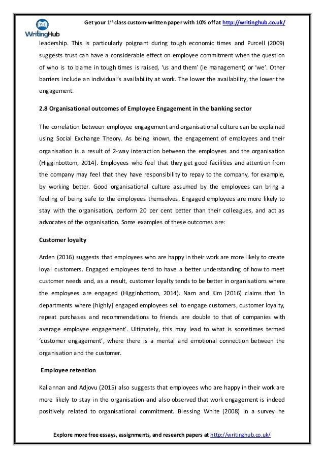 Dissertation employee engagement