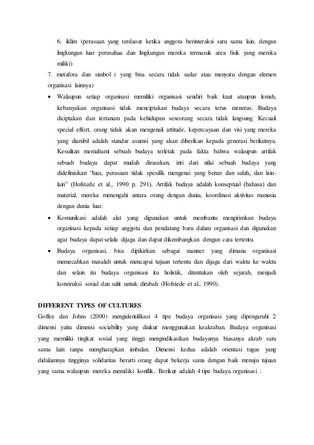 Resume bab the role of organizational culture dari buku kimiz dalkir  Slide 2