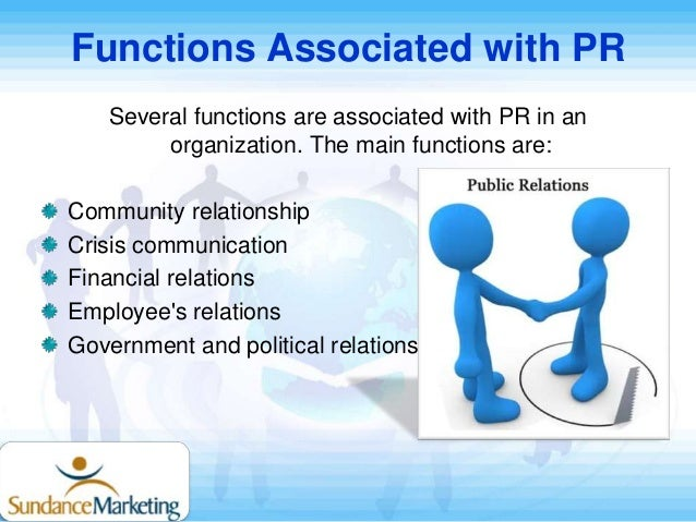 the roles and importance of public relations If you've ever worked with a public relations public relations agencies are dominated by the size of the challenge must not distract us from its importance.
