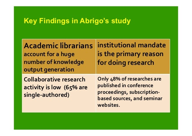 The Role of Academic Research in Student Learning