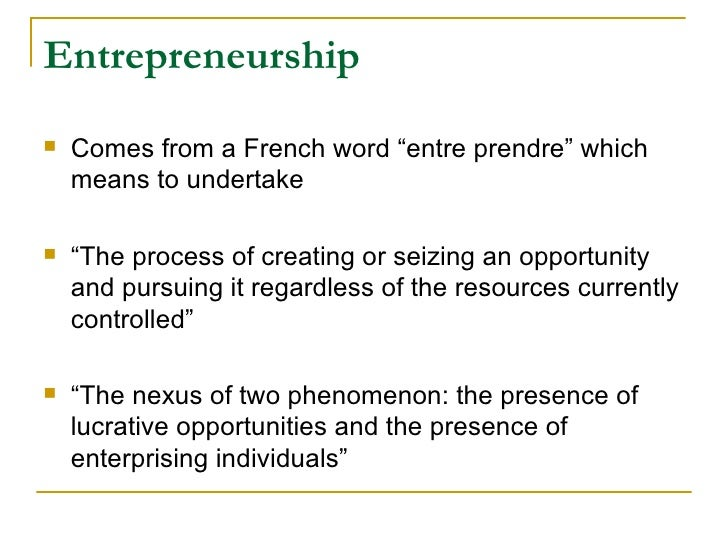 role of entrepreneurship in economic development notes