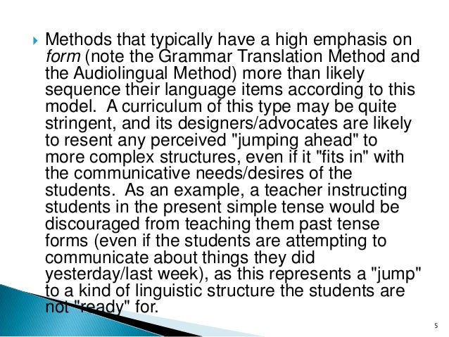 the role of syllabus curriculum