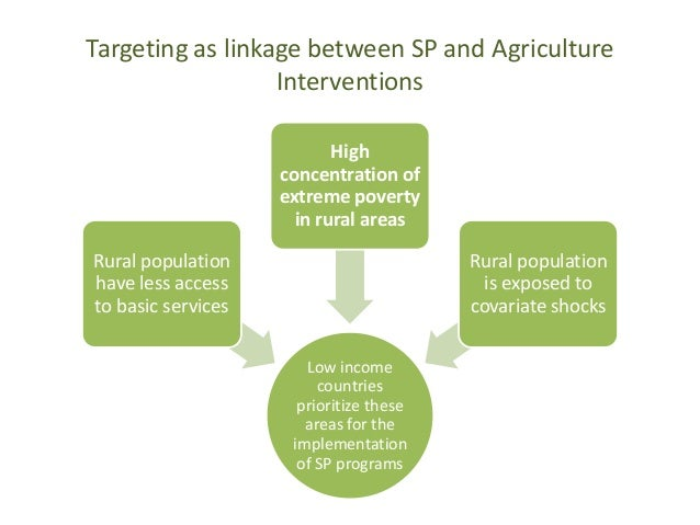 The role of targeting in social protection programmes what have we le…