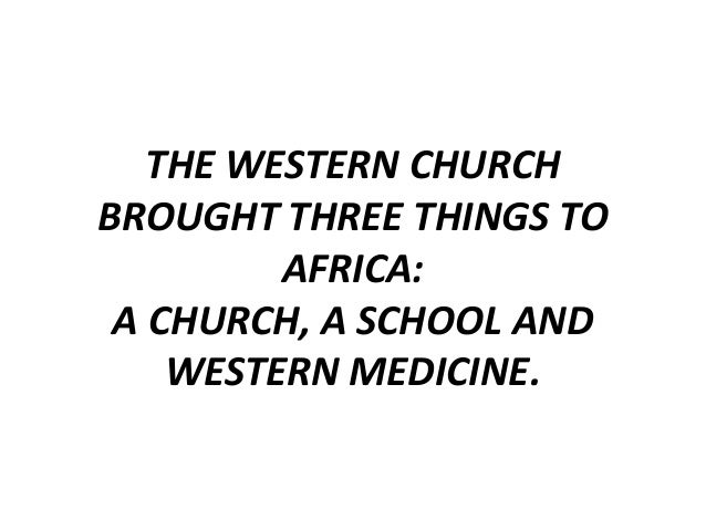 The role of the church in health