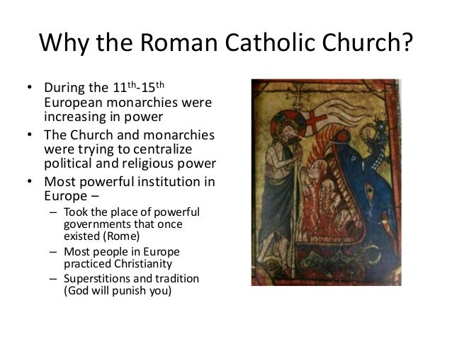 the catholic church and christianity during the middle ages Why was the roman catholic church so powerful in europe during the middle ages - 1369749 1 log wealthy areas adopted christianity after the muslims were.