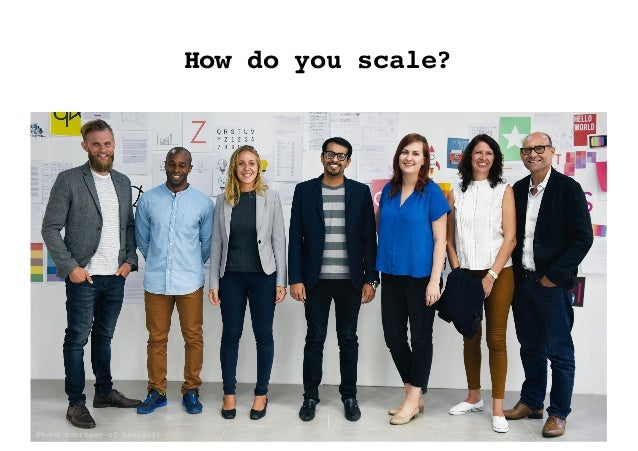 How do you scale? Photo courtesy of Rawpixel