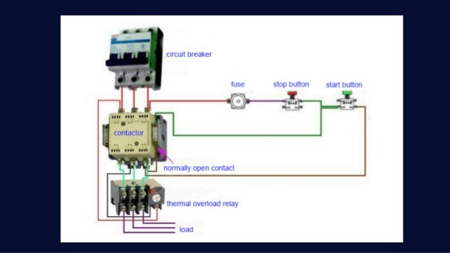 The Role Of Thermal Relay And Overload Relay U0026 39 S Installation Wiring