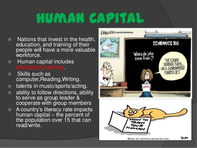 education and human capital Introduction this essay is a critical reflection on the human capital theory (htc), focusing on its principles, critiques and current thinking.