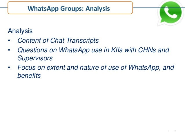 The Role of WhatsApp in Linking Community Health Nurses for Improved …