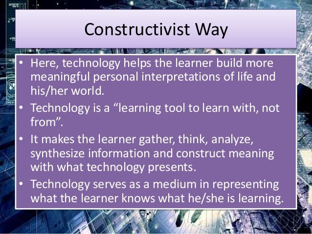 Role of educational technology in the