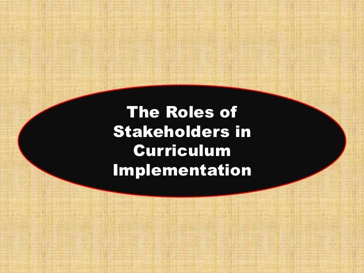 the role of stakeholders in implementing 1 the role of stakeholder pressure and managerial values in the implementation of environmental logistics practices abstract many of the management practices that contribute to improving a firm's environmental.