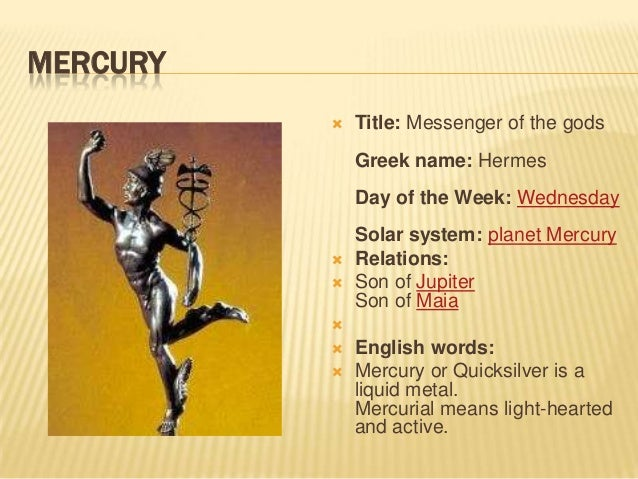 roman names of planets - photo #34