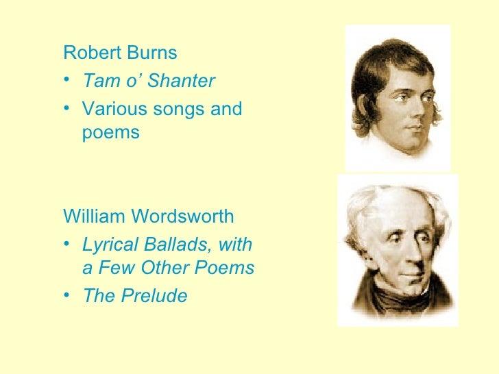 The Romantic Period And Robert Burns Essay