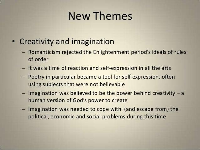 Romanticism ideals
