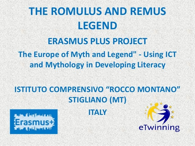 the legend of romulus and remus pdf