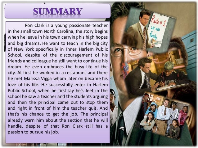 ron clark story essay Essay on flood in pakistan - fashion dissertation abstracts thomas malthus essay on population year yeats easter 1916 summary analysis essay ut austin admission essays.