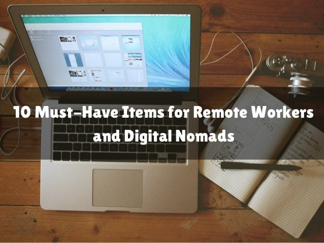 10 Must-Have Items for Remote Workers and Digital Nomads