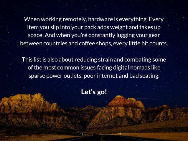 10 Must-Have Items for Remote Workers and Digital Nomads Slide 3
