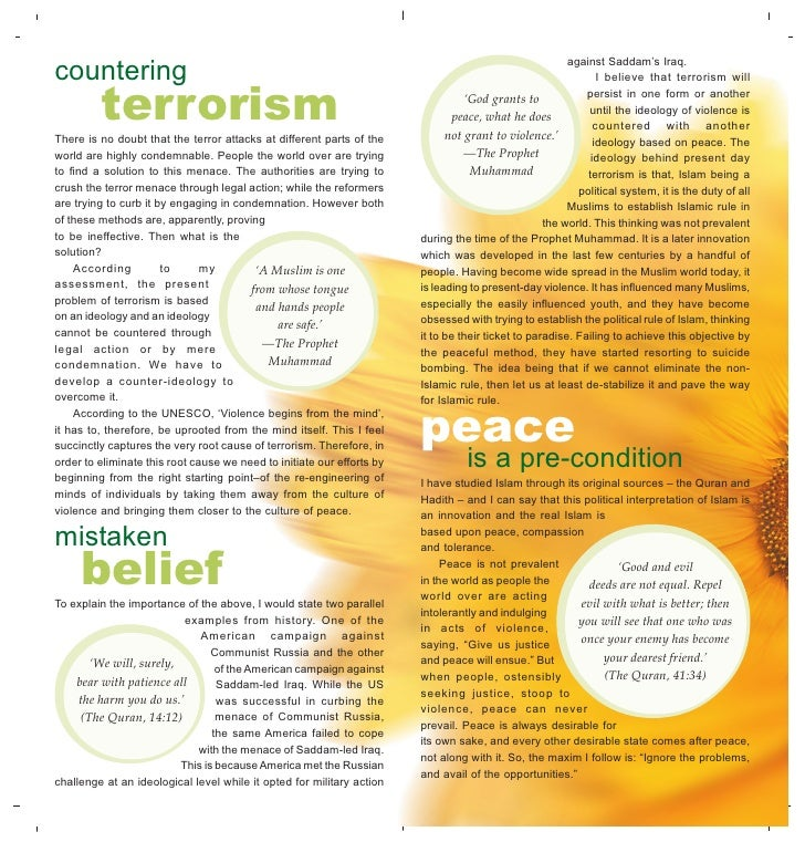 essay on terrorism and its solution Essay on terrorism and its solution: war against terrorism essay terrorism by its very nature disrupts international peace and security through premeditated.
