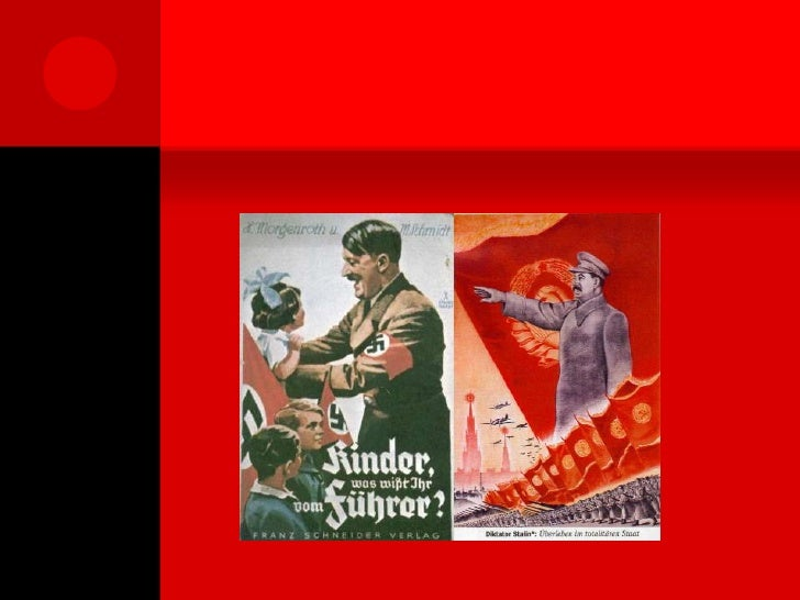 The Totalitarian Rule of Stalin and Hitler