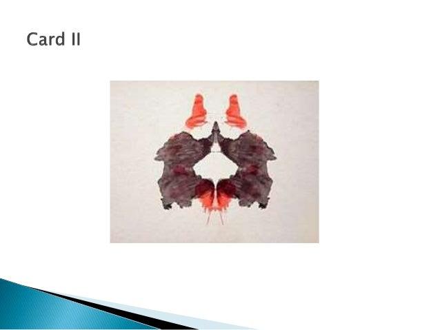 The Rorschach Psychodiagnostic Test