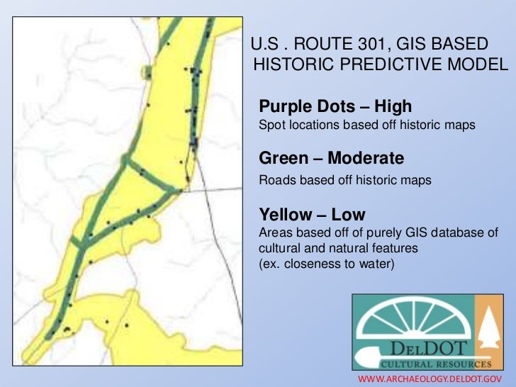 The Route Archaeology Program In Delaware CRM Firms Team - Us route 301 map