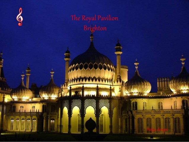 The Royal Pavilion  Brighton  Helga design