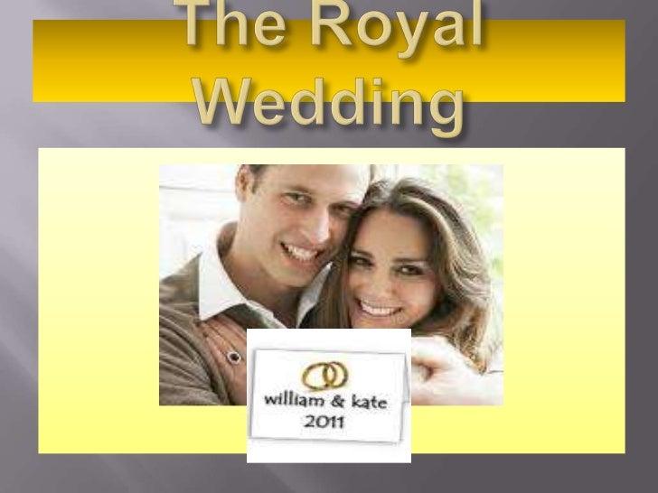 The Royal Wedding<br />