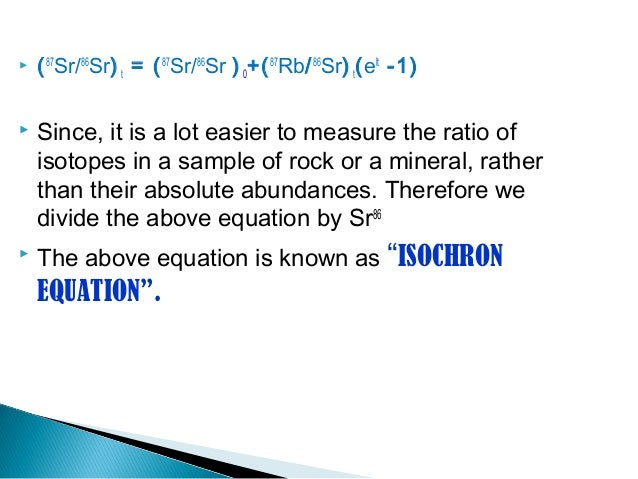 Virtual hookup isochron for rocks and minerals