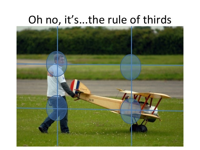 Oh no, it's...the rule of thirds