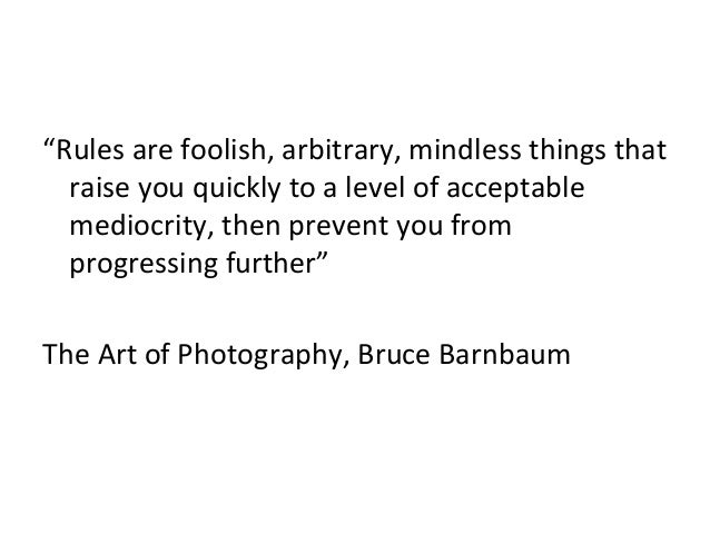The rules of composition - Photography Slide 2