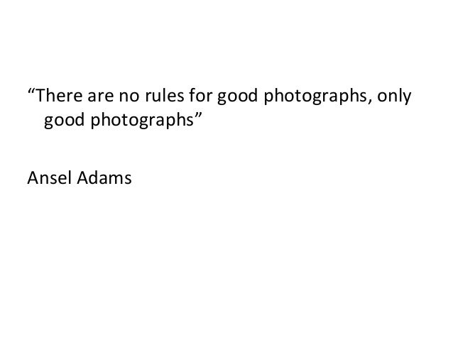 The rules of composition - Photography Slide 3