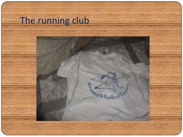 The running club <br />