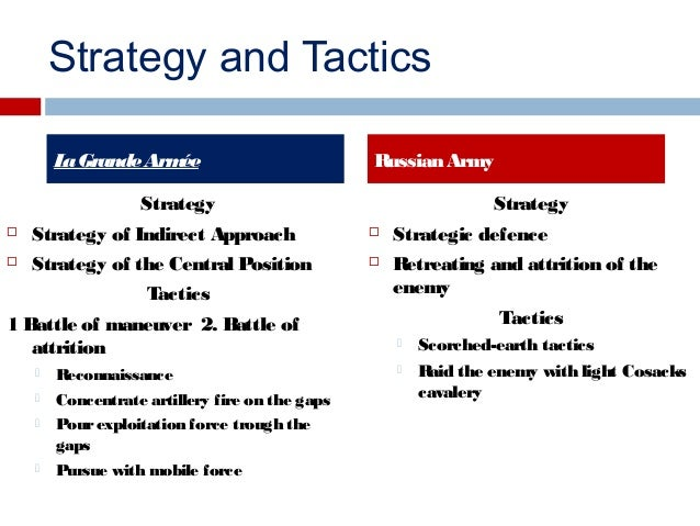 Napoleons strategy of indirect approach dating