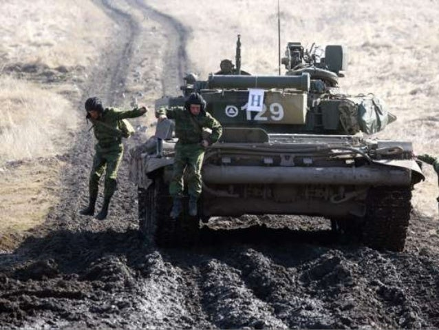 The russian military and ukraine (v.m.) Slide 3