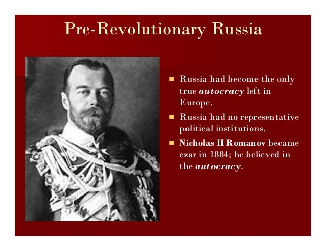 The Russian Revolution And 92