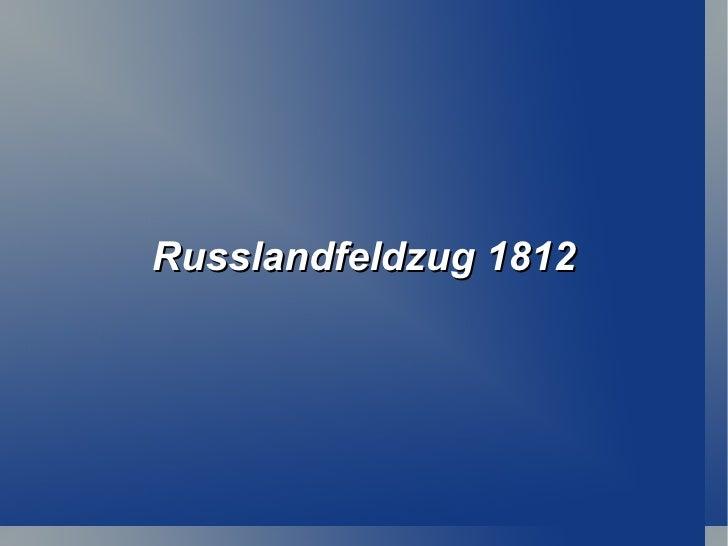 Russlandfeldzug 1812