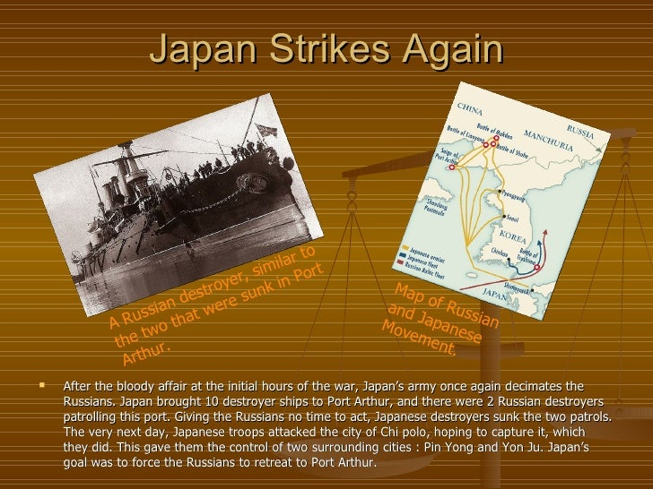 an introduction to the russo japanese war This chapter examines the russo-japanese war, which brought about the decisive turning point in anglo-russian relations between 1894 and 1914 before the war, russia.