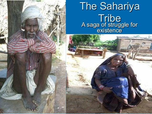 The Sahariya      TribeA saga of struggle for      existence